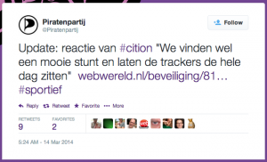piratenpartij tweet
