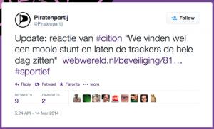 piratenpartij tweet